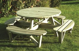 Elite Round Table & Bench Seat (ERBS)