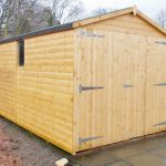 Forestcraft 16ft x 8ft Garage