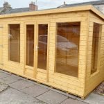 Forest Craft Iona Pent with Storage Shed